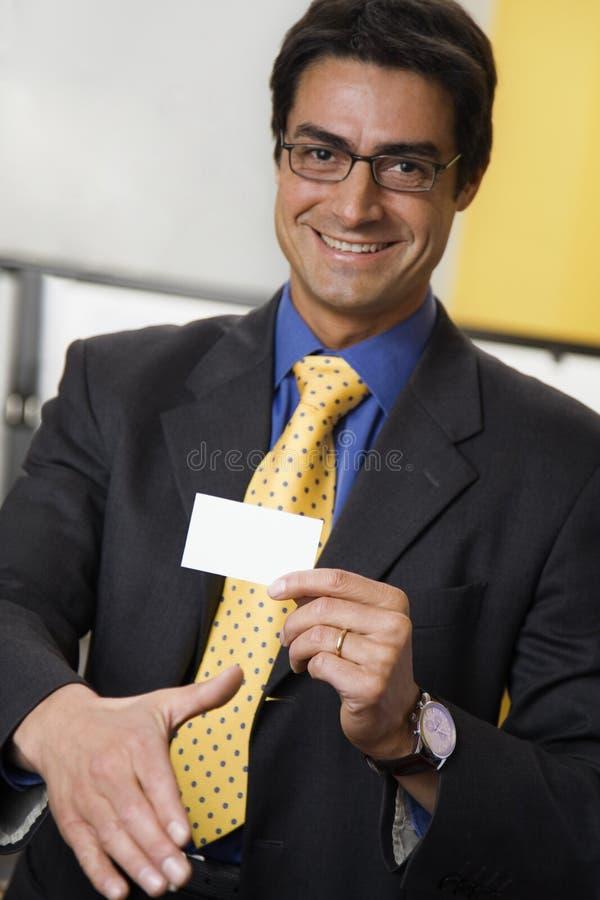 handshaking бизнесмена стоковые фотографии rf