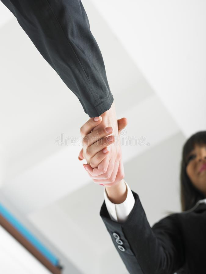 Download Handshaking In Office Low Angle Stock Photo - Image of formal, business: 14702816