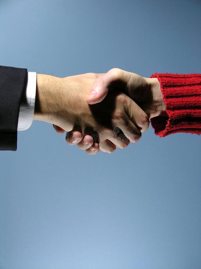 Handskakning 5 Arkivfoton