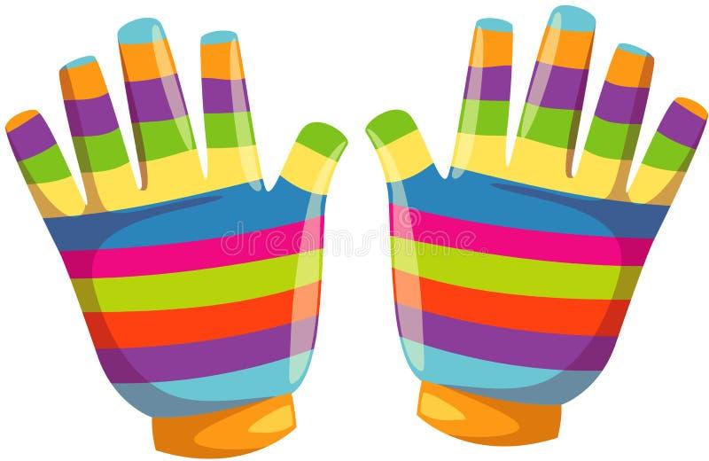 handskevinter royaltyfri illustrationer