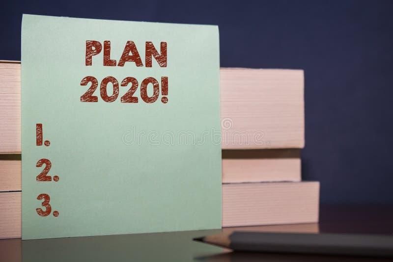 Handskrifttextplan 2020 Detaljerat f?rslag f?r begreppsbetydelse som g?r uppn? n?got d?refter ?rsslut upp tr?tre arkivfoto