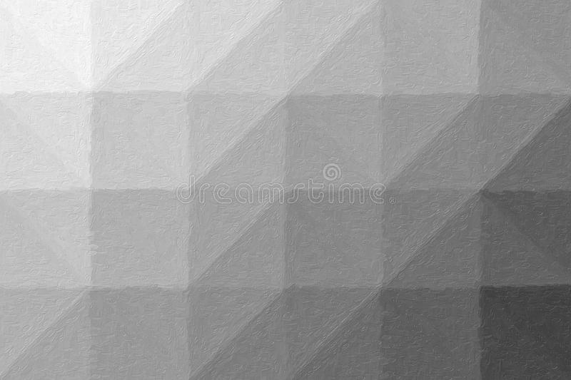 Handsome abstract illustration of grey Realistic Impasto paint. Useful background for your project. vector illustration