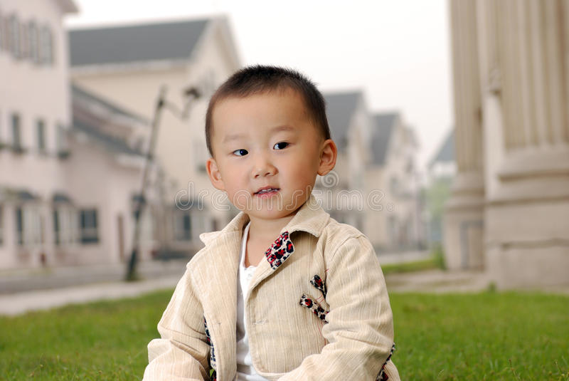 Download Handsome Asian  boy stock image. Image of cheerful, park - 21862339