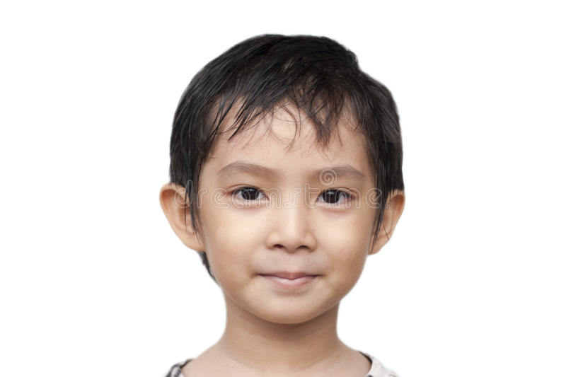 Handsome Asian Boy. royalty free stock image