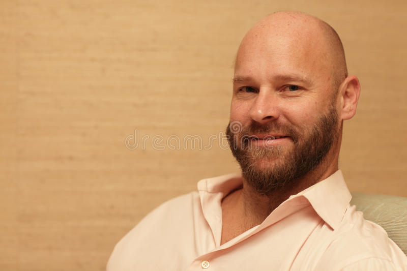Download Handsome bald man stock image. Image of shaved, adult - 18867869