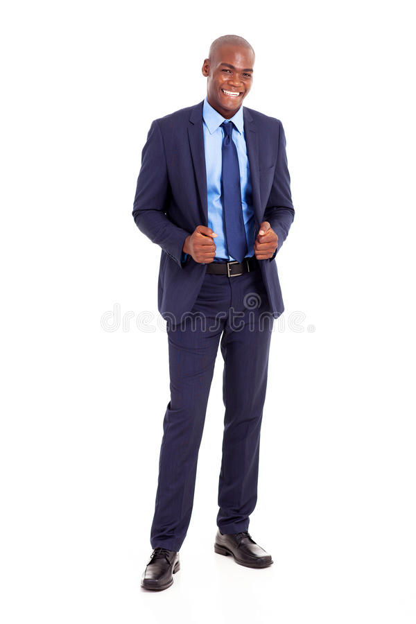 Download Handsome black businessman stock photo. Image of isolated - 29450088