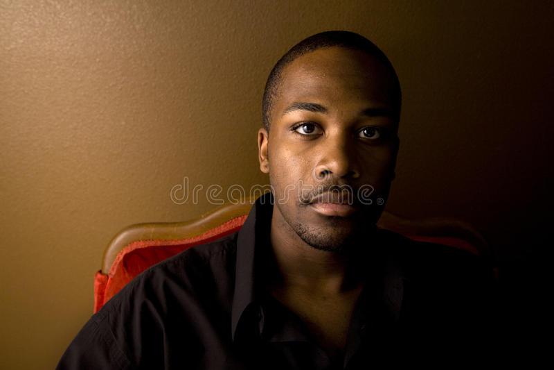 Download Handsome black man stock image. Image of dark, attractive - 9439255