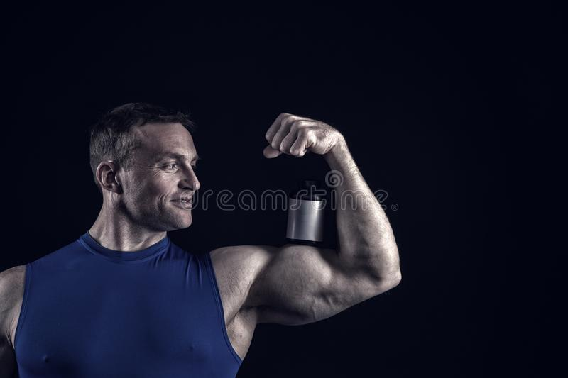 Handsome Bodybuilder Stock Photos - Download 65,234 Royalty