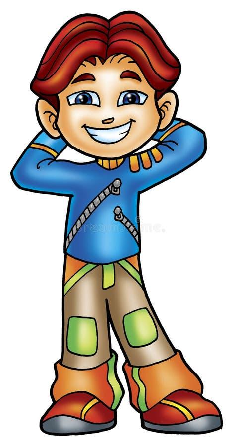 Download Handsome boy stock illustration. Image of illustrations - 8697831
