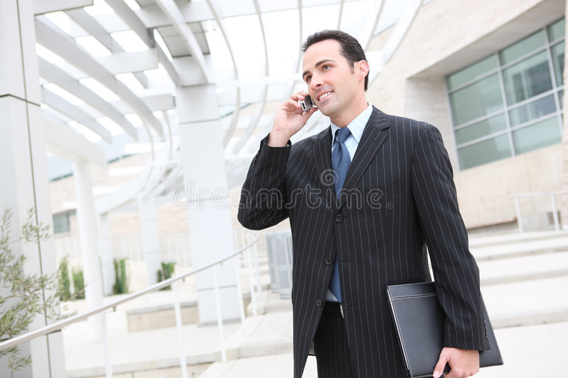 Download Handsome Business Man At Office Stock Photo - Image: 6419930