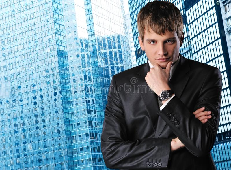 Download Handsome businessman stock image. Image of lifestyle - 12970423