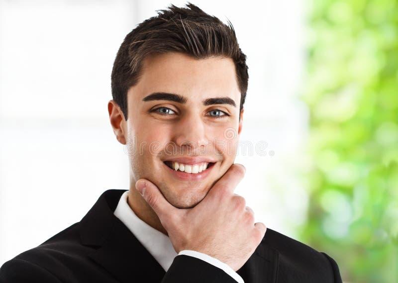 Handsome Businessman Stock Photos