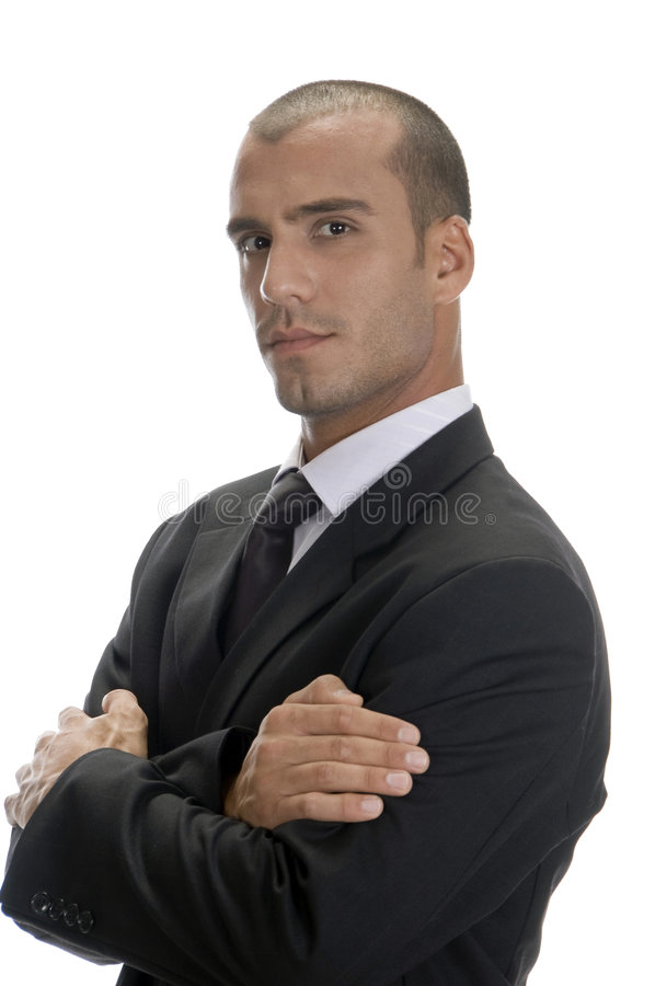 Free Handsome Businessman Posing Stock Photos - 6732833