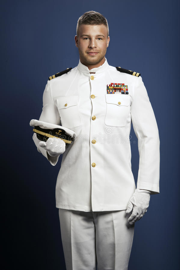 Free Handsome Captain Sea Ship Stock Photo - 39849150