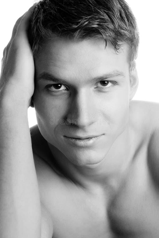 Handsome Face Stock Photos