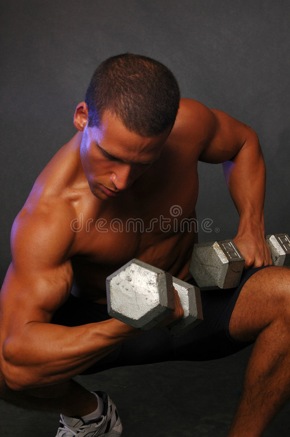 Download Handsome Fitness man stock image. Image of built, pretty - 2312037