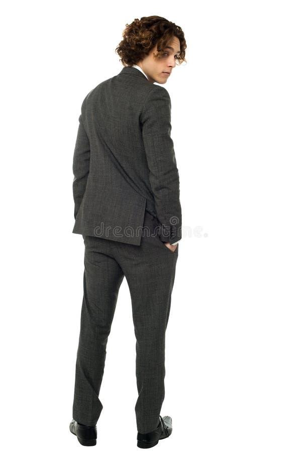 Free Handsome Guy Turning Back Stock Photo - 31705470