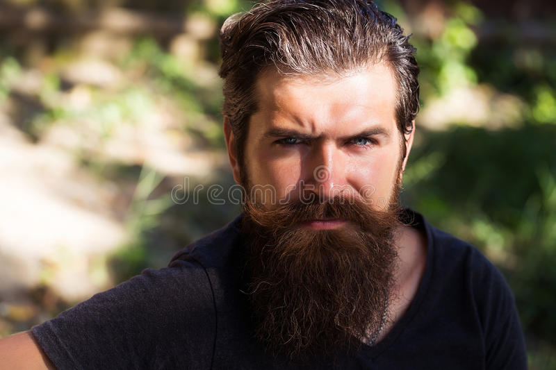 Handsome hipster man royalty free stock photography