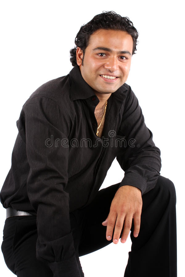 Download Handsome Indian Man stock image. Image of asian, smiling - 11529491