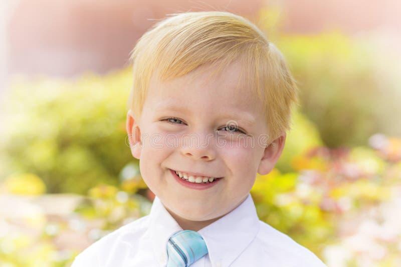 Handsome Little Boy Portrait stock photo
