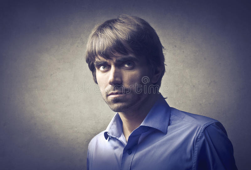 Handsome man royalty free stock photos