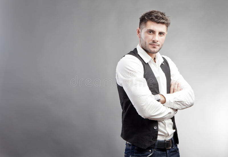 Handsome Man Royalty Free Stock Photo