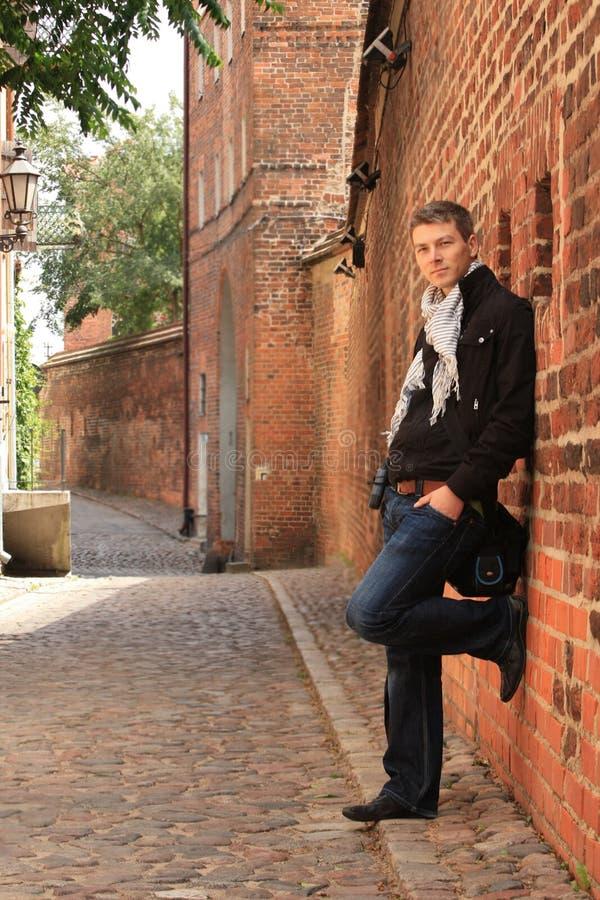 Download Handsome man stock image. Image of caucasian, torun, city - 9858257