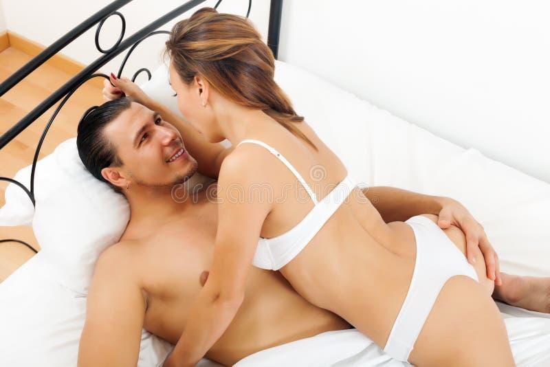 Handsome men having sex
