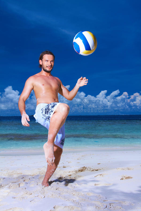 Download Handsome Man at Maldives stock image. Image of perfect - 14046499