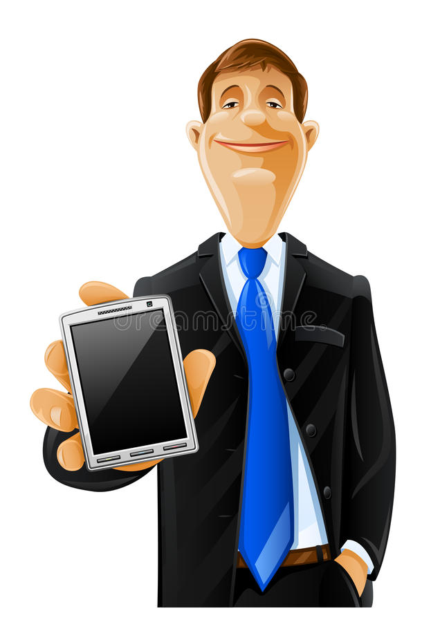 Download Handsome Man With Phone Stock Photography - Image: 19472482