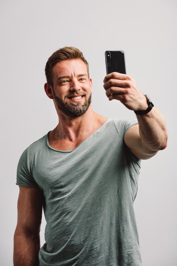 Selfie handsome guy 21 Hot