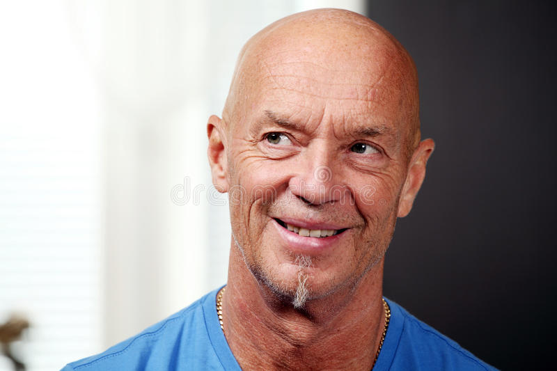 Handsome mature man royalty free stock photo