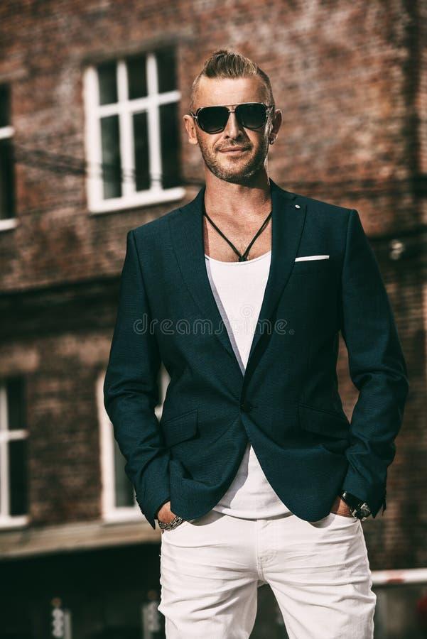 Stylish mature man royalty free stock image