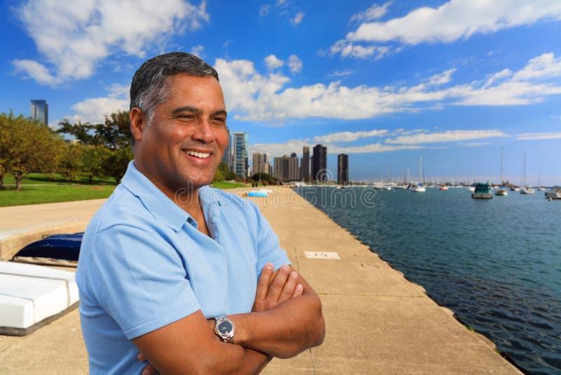 Handsome Hispanic Man royalty free stock images