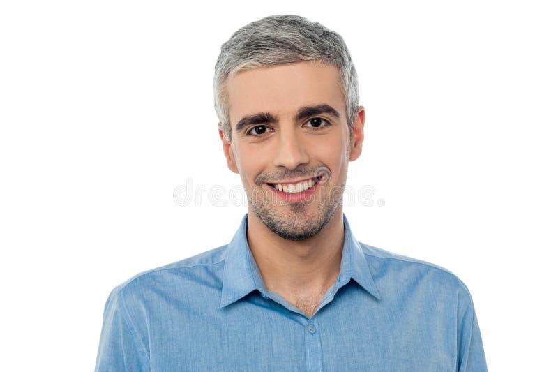 Download Handsome middle age model stock image. Image of model - 38710815