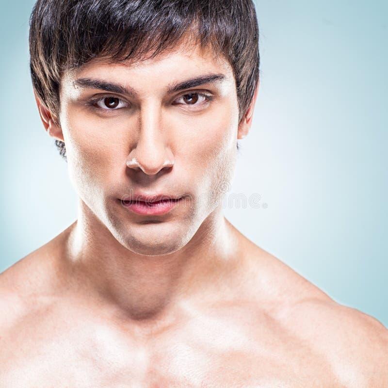 Handsome Model Posing stock photos