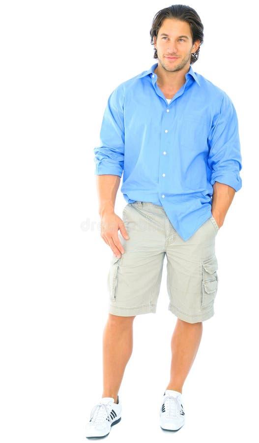 handsome standing youngman στοκ φωτογραφία με δικαίωμα ελεύθερης χρήσης