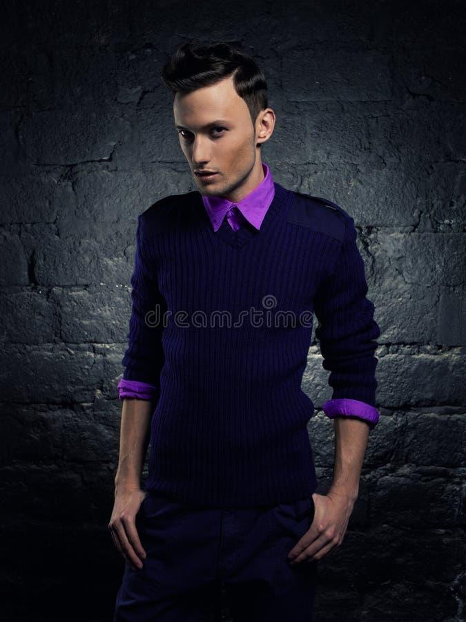 Download Handsome stylish man stock photo. Image of intelligent - 27439216