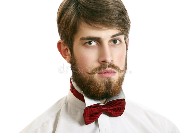 Handsome stylish man stock images