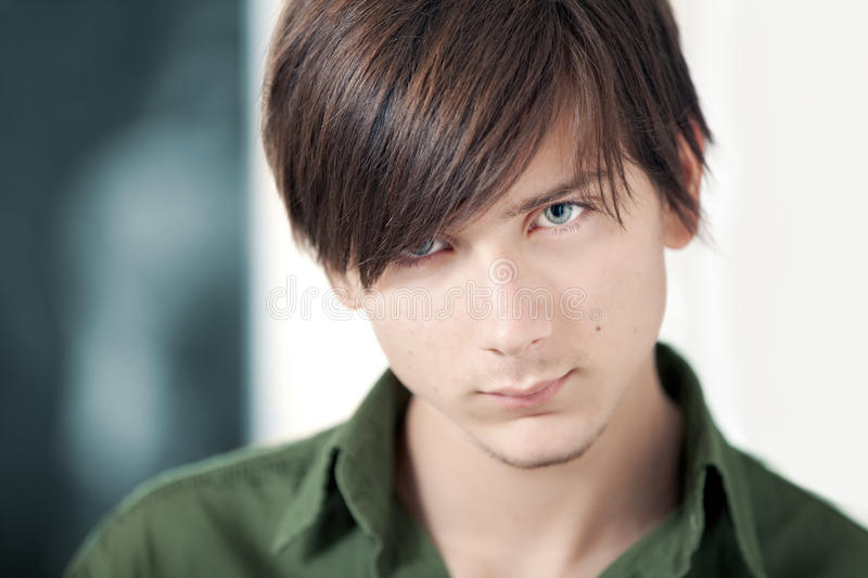 Download Handsome Teenager stock photo. Image of male, eyes, headshot - 16539174