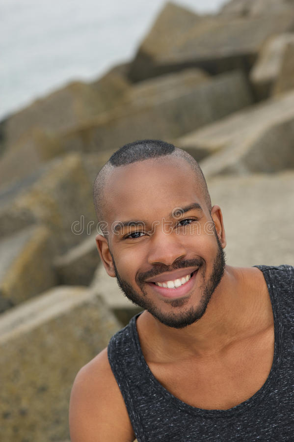 Download Handsome Young African American Man Outdoors Stock Photo - Image: 31394204
