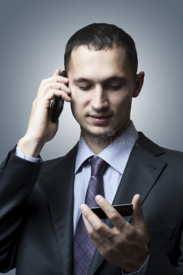 Download Handsome Young Business Man Stock Photo - Image: 24087190