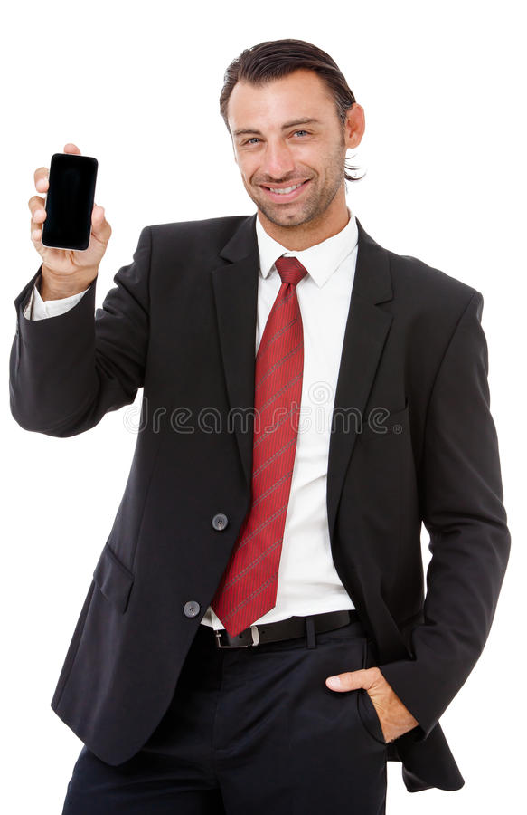 Free Handsome Young Business Man Talking On The Phone Royalty Free Stock Photos - 39325058