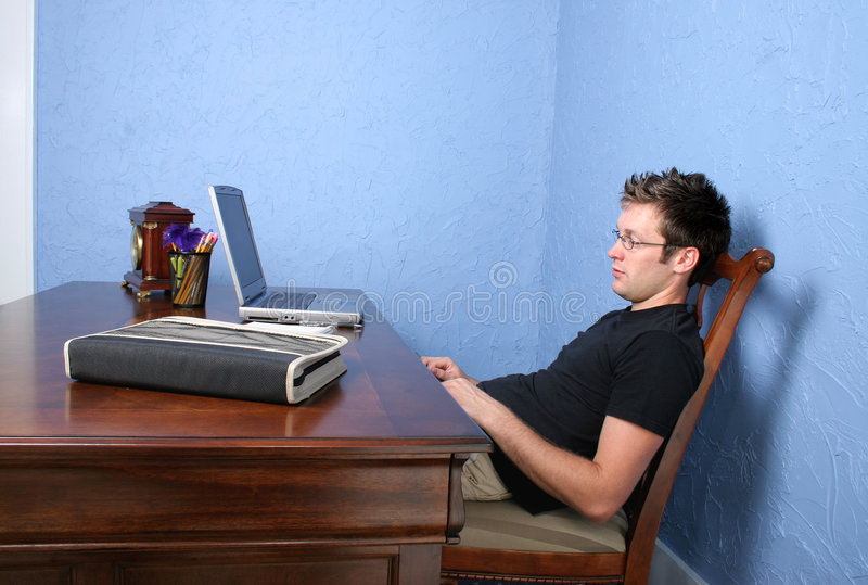 Handsome Young Male Student stock images