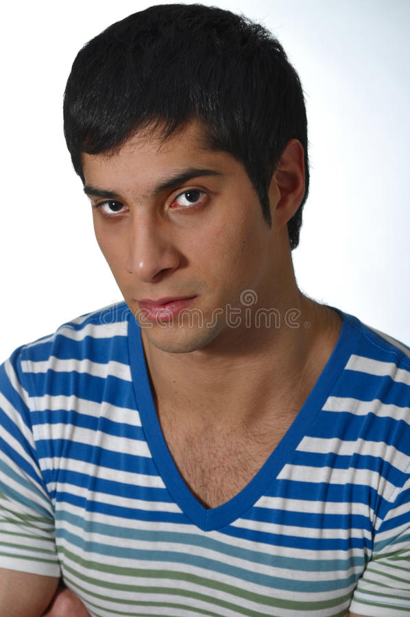 Handsome Young Man. Stock Photo