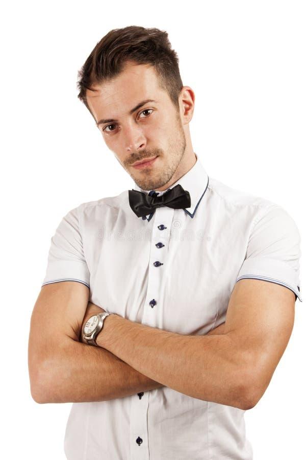 Download Handsome young man stock image. Image of gentleman, clock - 26749439