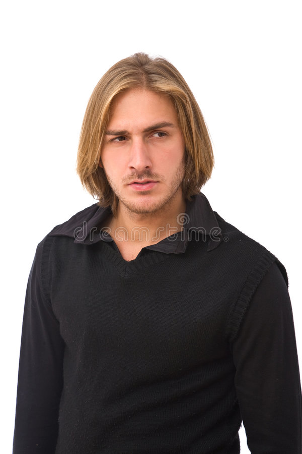 Handsome young man royalty free stock images