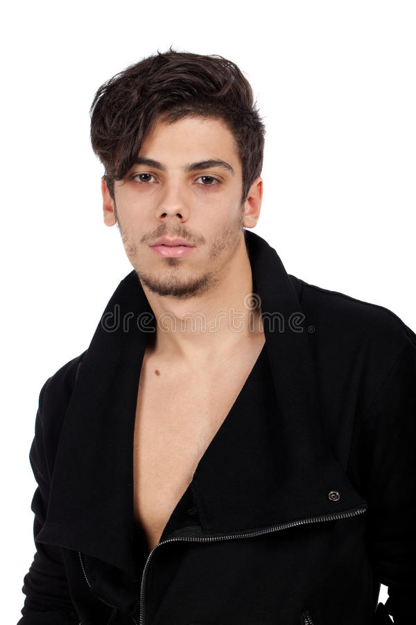 Handsome Young Man Posing Royalty Free Stock Photos