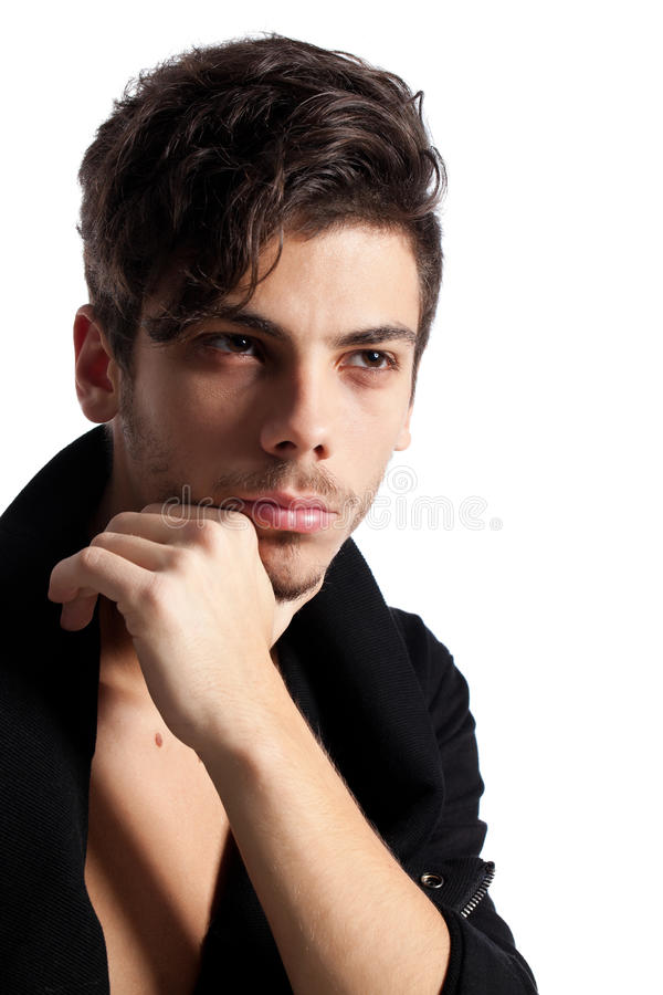 Download Handsome Young Man Posing Royalty Free Stock Images - Image: 23141269