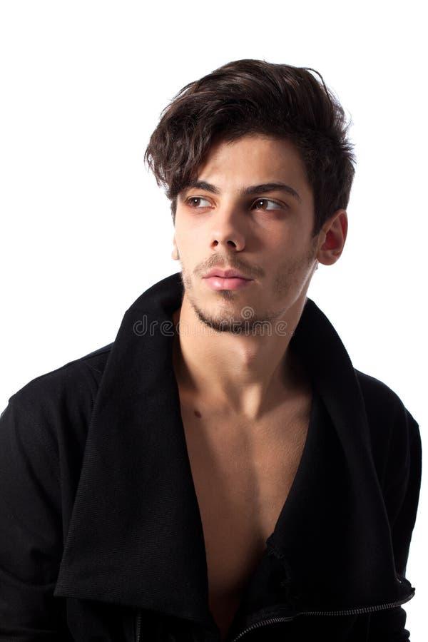 Handsome Young Man Posing Stock Photos